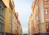 Walls of old buildings — Stockfoto