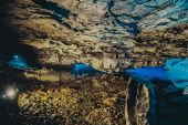 Grotta lago — Foto Stock