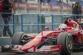 Sebastian Vettel Ferrari 2015 — Stock Photo
