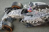 Daniil Kyvat Jerez 2015 — Stock Photo