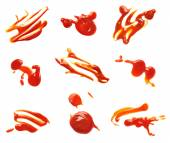 Ketchup stain fleck  — Stock Photo