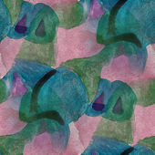 Artist seamless  brown, greencubism abstwatercolor wallpaper bac — Stock Photo