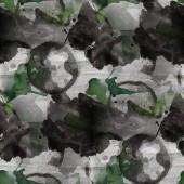 Artwork artist palette picture  frame black, green graphic seaml — Stock Photo