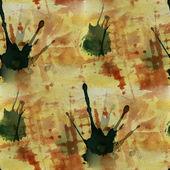 Artwork artist palette gul, brun picture frame grafisk seaml — Stockfoto