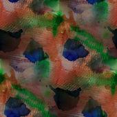 Contemporary green, blue, carrot avant-garde seamless wallpaper — Stock Photo