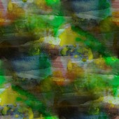 Contemporary green, yellow, blue avant-garde seamless wallpaper — Stock Photo