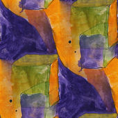 Art seamless blue, yellow contemporary texture watercolor unusua — Foto Stock