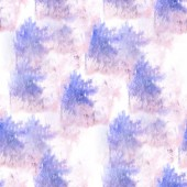 Artist purple, blue seamless watercolor wallpaper texture of han — 图库照片