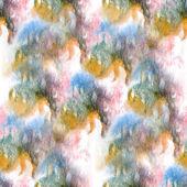 Artist red, blue, black, yellow seamless watercolor wallpaper te — Stock Photo