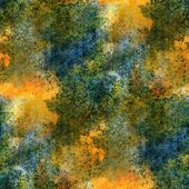 Impressionism  artist blue, yellow, green  seamless  watercolor — Stock Photo