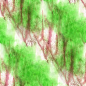 Impressionism  artist green, brown seamless  watercolor wallpape — Stock Photo