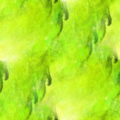 Impressionism  artist green, marsh seamless  watercolor wallpape — Stock Photo