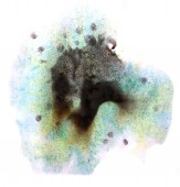 Modern art avant-guard texture background blue, black wallpaper — Stock Photo