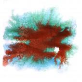 Modern art avant-guard texture background brown, blue wallpaper — Stock Photo