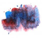Modern art avant-guard texture background wallpaper blue, red vi — Stock Photo