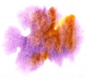 Modern art avant-guard texture violet, brown, yellow background — Stock Photo