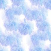 Seamless  watercolor bluish artist Mural wallpaper texture of ha — Stock Photo