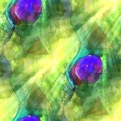 Art blue green light background  texture watercolor seamless abs — Stok fotoğraf