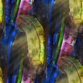 Art light blue, green, purple background texture watercolor seam — Stok fotoğraf