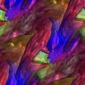 Art light flower, brown, blue victory background texture waterco — Stok fotoğraf