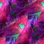 Art light green, purple background texture watercolor seamless a — Stock fotografie