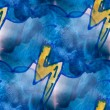 Mural seamless pattern lightning background texture — Stock Photo #61869663