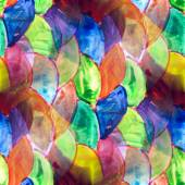 Mural colored circles background seamless pattern bac — Stockfoto