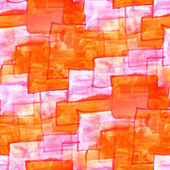 Mural orange squares on a pink background  seamless — Stock Photo