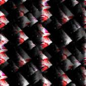 Sanat siyah, kırmızı suluboya mürekkep boya blob suluboya sıçrama colo — Stok fotoğraf