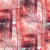 Mural  background  seamless desk, TV pattern texture — Stock Photo
