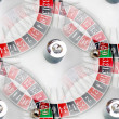 Seamless texture and the American roulette casino — Stock Photo #63588819