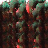 Modern art avant-guard texture background wallpaper green, red, — Stockfoto
