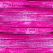 Seamless texture of the wooden fence of the old pink — Stock Photo