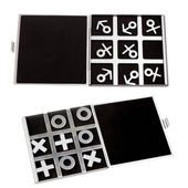 Set tic-tac-toe symbol of man and woman of masculine and feminin — Stock Photo
