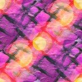 Bokeh seamless art net purple black watercolor — Stock Photo