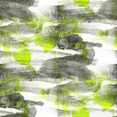 Grunge black, green ancient ornament drawing usa colorful patter — Stock fotografie