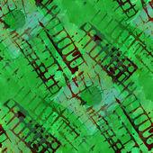 Pattern design seamless watercolor black, green texture backgrou — Stock fotografie