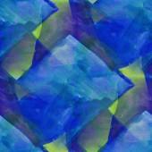 Pattern design seamless watercolor texture background green, blu — Stock fotografie