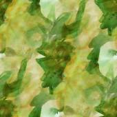 Pattern design seamless watercolor texture green, yellow backgro — Stock fotografie