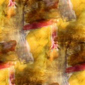 Pattern vintage paint brown, yellow, red design seamless waterco — Stock Photo