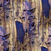 生锈的铁墙的无缝纹理 — 图库照片