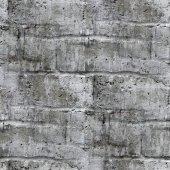Бесшовные текстуры площадь старой каменной стеной с backgroun трещины — Стоковое фото