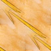 Blots yellow lightning watercolor painting seamless background — Stock Photo