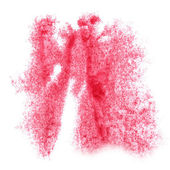 Abstract pink watercolor  background for your  design  insult — Stock Photo