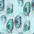 Seamless turquoise eyes texture background wallpaper pattern anc — Stock Photo #69523261