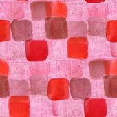 Sorunsuz kırmızı, kahverengi küçük kareler arka plan duvar kağıdı p doku — Stok fotoğraf