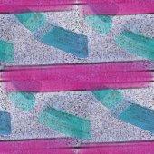 Nahtlose klein grün, große rosa Streifen Texturen Hintergrund Mauer — Stockfoto
