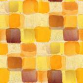 Seamless yellow, dark purple squares texture background wallpape — Stock Photo