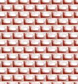 Brick wall texture — Stockvektor
