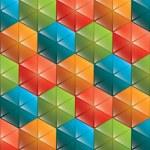 Triangular background — Stock Vector #70985813